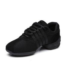 Livraison Gratuite de Bonne Qualité Vente Chaude Respirant Noir Maille De Danse Sneakers Femme Jazz Ballroom chaussures Zapatilla De Deporte