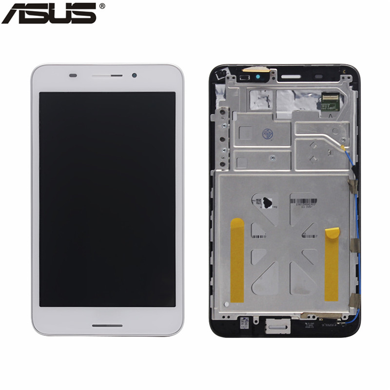 Asus Original LCD Display Touch Screen Assembly Replacement Parts For ASUS Fonepad 7 FE375 FE375CG ME375 LCD screen with frame high quality for zte 9130 lcd display with touch screen assembly with frame black replacement parts free tracking
