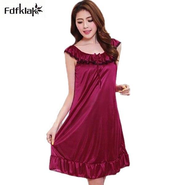 153950a96fe Women sleepwear sexy sleep nighties short underwear nightgowns female plus  size indoor clothing ladies night dress nightshirts