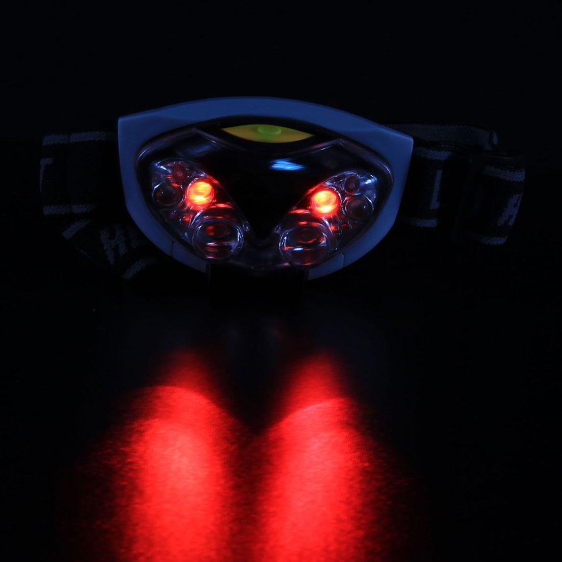 Waterproof Bike LED Headlight Bicycle Hiking Light Torch AAA Head Lamp 6 LEDs for Outdoor Camping Hiking