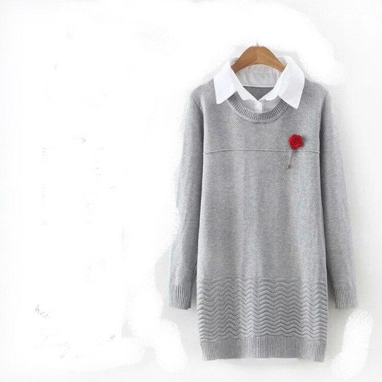 Pullover Poncho  Nuevo Europeo de Otoño E Invierno Suéter de Las Mujeres conjunt