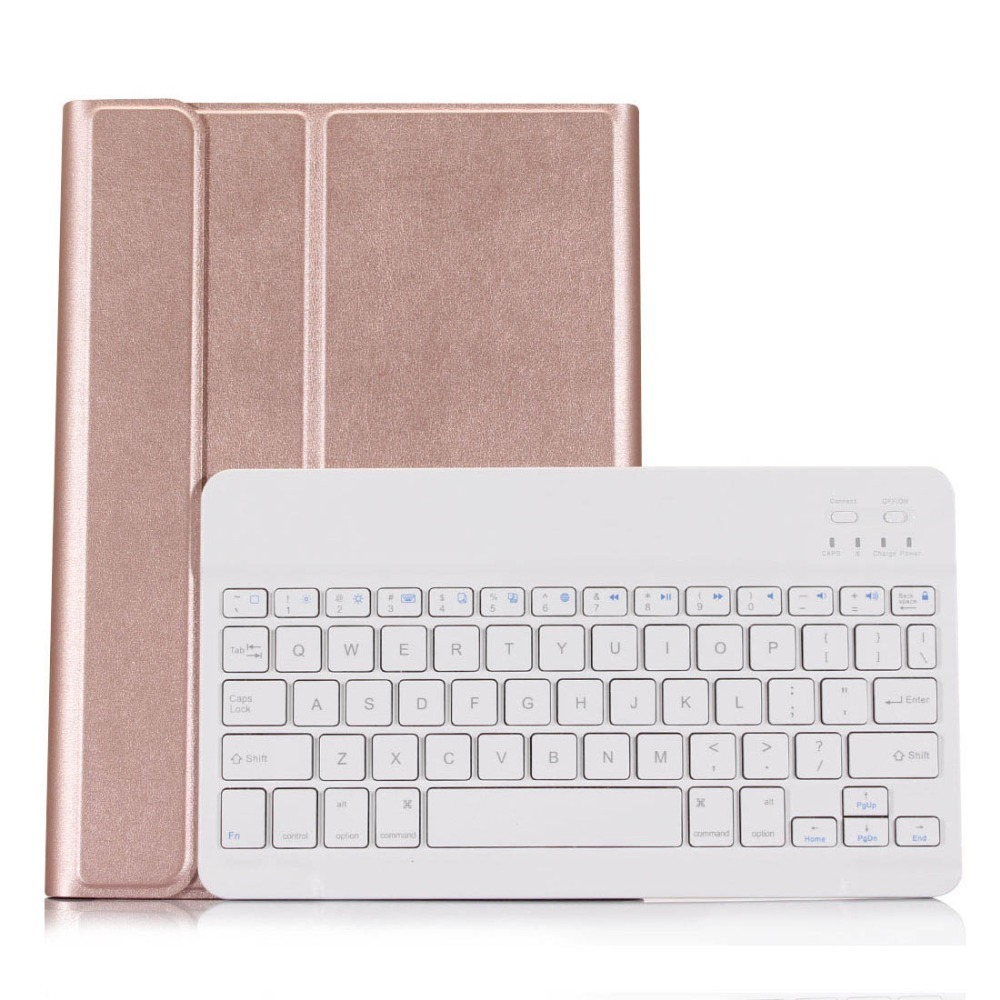 For iPad 5 / 6 Ultra thin Detachable Bluetooth Keyboard Case cover For iPad Air / Air 2 / Pro 9.7 + Gift