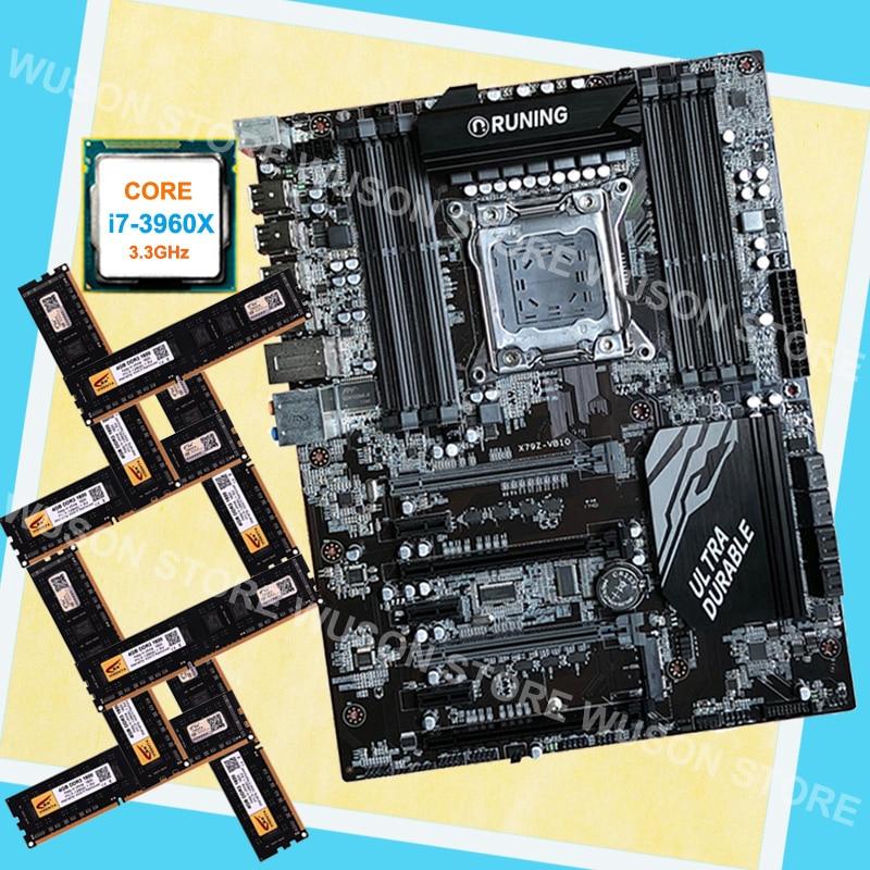 Ddr3 1600 Mhz QualitäT Und QuantitäT Gesichert Neue Ankunft Runing Atx X79 Motherboard Mit 8 Ram Slots Cpu Intel Core I7 3960x3,3 Ghz Marke Neue Speicher 32g 8*4g