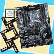 New arrival Runing ATX X79 motherboard with 8 RAM slots CPU Intel core i7 3960X 3.3GHz brand new memory 32G(8*4G) DDR3 1600MHz(China)