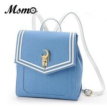 MSMO fashion Girl Cute Samantha Vega Sailor moon Backpack LUNA Cat Schoolbag Sailor moon 20th Women Leather Backpack Bookbag
