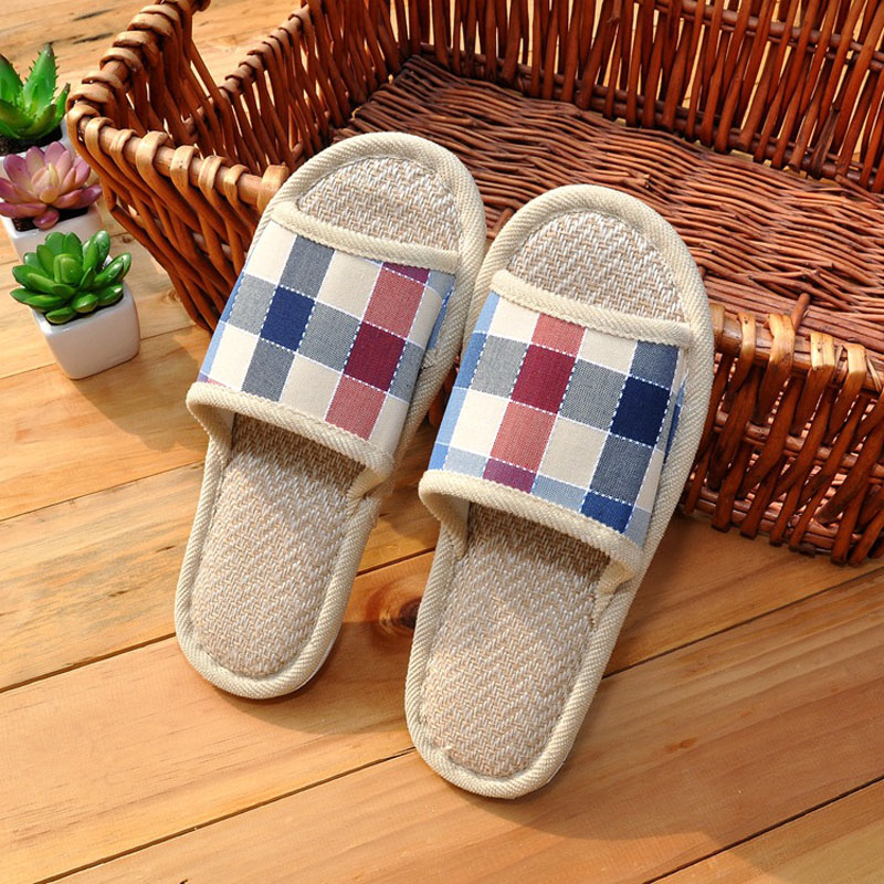 все цены на HOT SALE home women slippers Coral Soft hemp Slippers home women flax slipper indoor Cotton Fabric women's slippers home