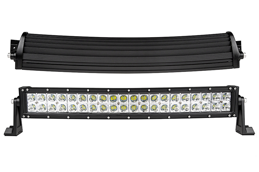 24\u0027\u0027 120W LED Curved Light Bar Combo Spot Flood Beam Waterproof IP67 24 inch CREE 12V 24V Car Truck Off road-in Assembly from