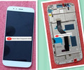 Original  LCD Display + Touch Digitizer Screen glass  For Huawei G8  with frame free shipping