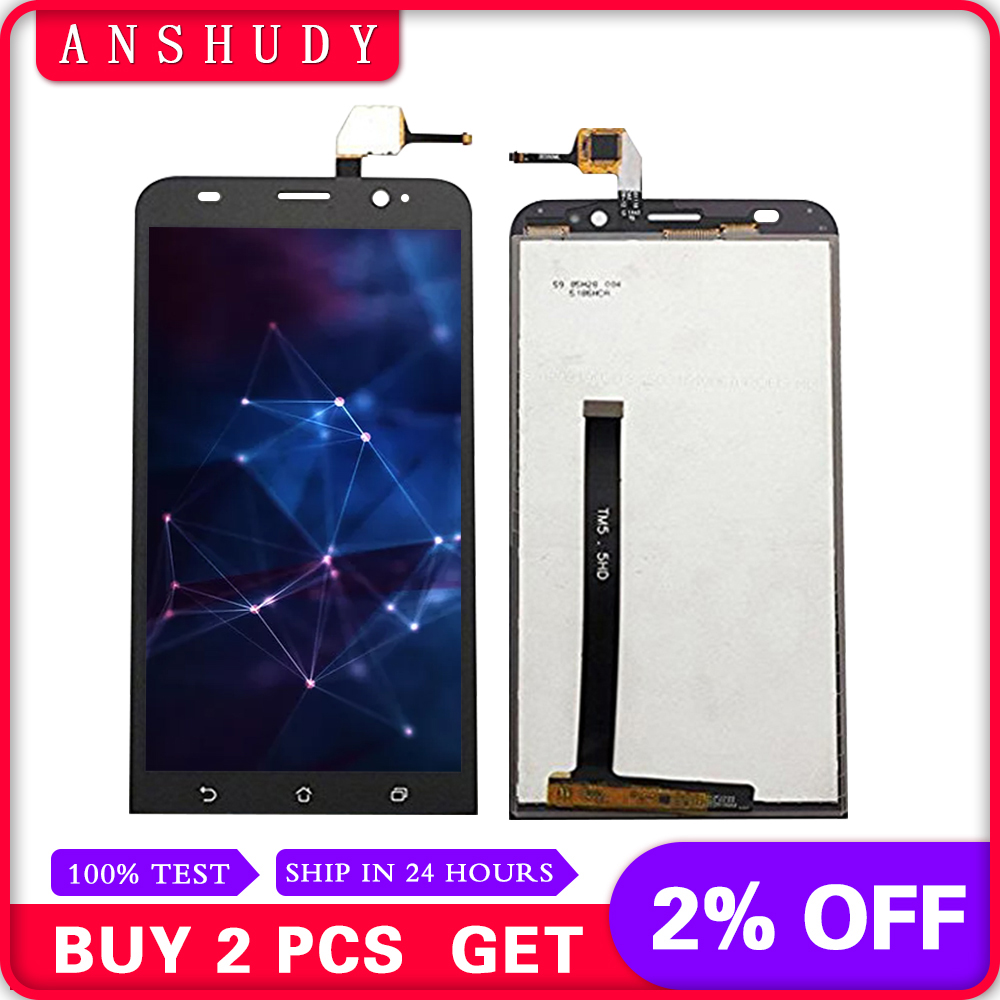 Cellphones & Telecommunications For Asus Zenfone 2 Ze550ml Lcd Display Touch Screen Digitizer Assembly For Asus Ze550ml Z008 Z008d Z008db Z008dc Lcd