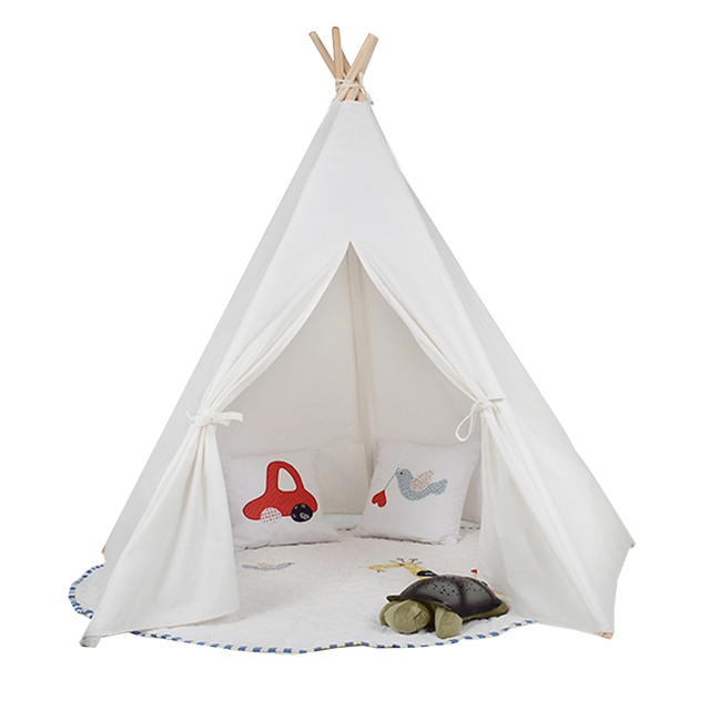 princess big kids teepee tents play tents playhouse for girl baby childrenu0027s playground / birthday gift  sc 1 st  AliExpress.com & princess big kids teepee tents play tents playhouse for girl baby ...