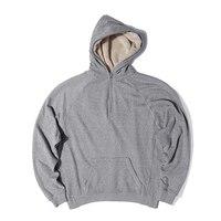 2016 Fashion Streetwear Hiphop Hoodies Sweatshirts Fleece Jacket Latex Fur Coats Designer Mens Clothing Justin Bieber