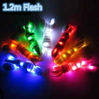 LED Flash Shoe Lace Shining Twinkle Skates Lace With Battery 1 2M For Inline Roller Skate