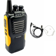 Hytera TC-610 walkie talkie two way radios VHF 136-174MHZ radio comunicador Walkie-talkies for hunting