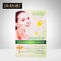 Jasmine Kolagen Twarzy Maska Proszek Anti-Aging Przeciwzmarszczkowy Luksusowe Spa Leczenie pielęgnacji skóry Nawilżający wybielania 300g DR RASHEL