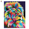 Colorful Lion Animal Frameless Diy Digital Painting By Numbers Acrylic Paint Modern Wallh Art Canvas Painting