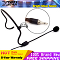 Free Shipping 3.5mm Screw Thread Connector Headworn Earhook Headset Mic Mike Mikrofon For KTV Karaoke Wireless Microphone System