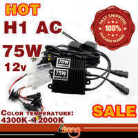 Super Bright 1set 75W AC Xenon HID Conversion Kit H1 H3 H4 H7 H8 H9 H10