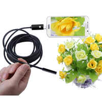 Endoscope Camera 8mm HD USB Endoscope 6 LED 1/2/5 Micro Flexible Waterproof Inspection For Android PC Borescope endoscopio