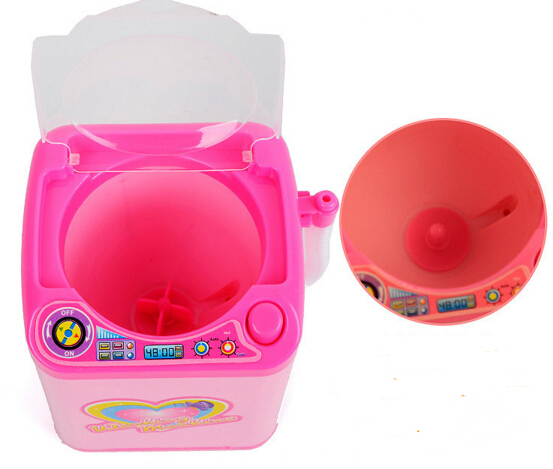 Educational Toy Mini Electric Washing Machine Children Pretend & Play Baby Kids Home Appliances Toy 5