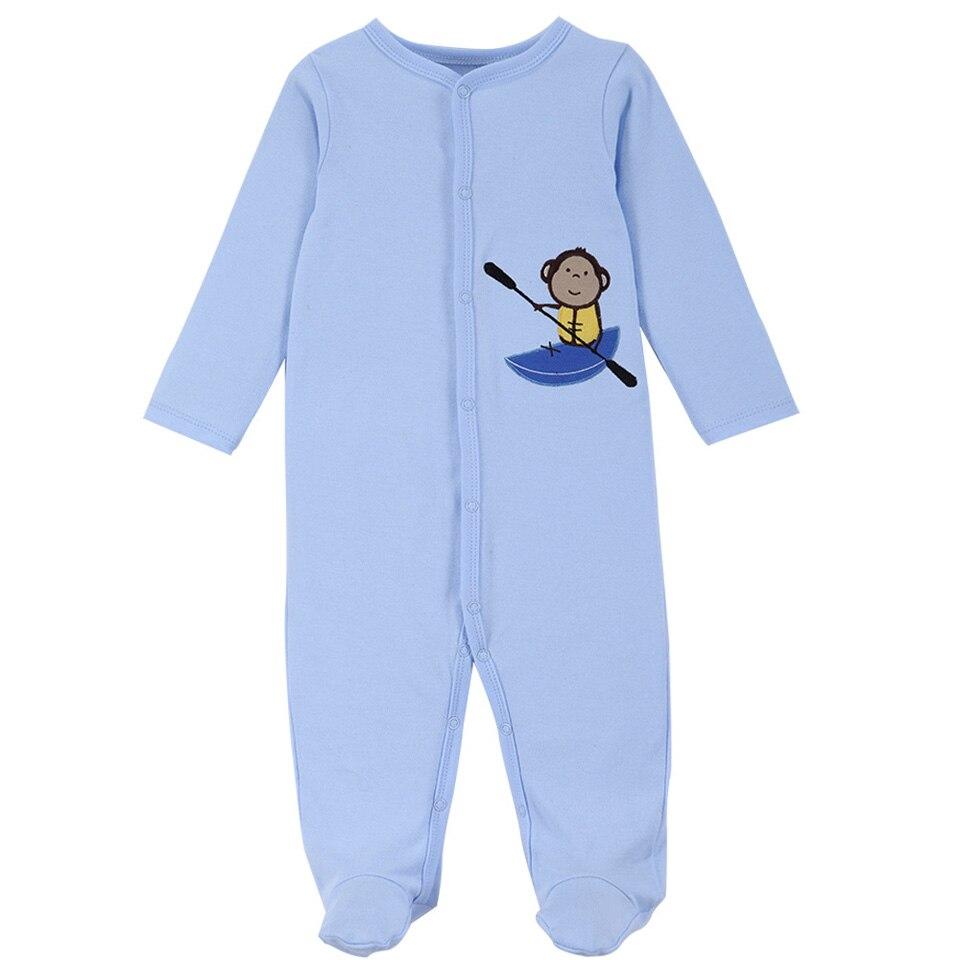 3 Sztuk / zestaw Moda Bawełna zimowe pajacyki dla niemowląt - Odzież dla niemowląt - Zdjęcie 4