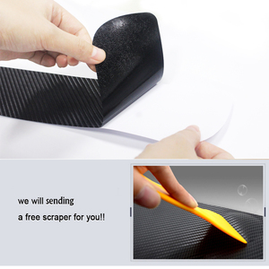 Image 5 - Car Door Sill For Mitsubishi LANCER 4D Carbon Fiber Vinyl Sticker Door Sill Protector Scuff Plate Car Sticker Accessories 4Pcs