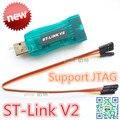 Лучшее Качество ST-Link stlink V2 для STM8S STM8L Cortex-M0 STM32 Cortex-M3 ПЛАВАТЬ JTAG SWD интерфейс Программист