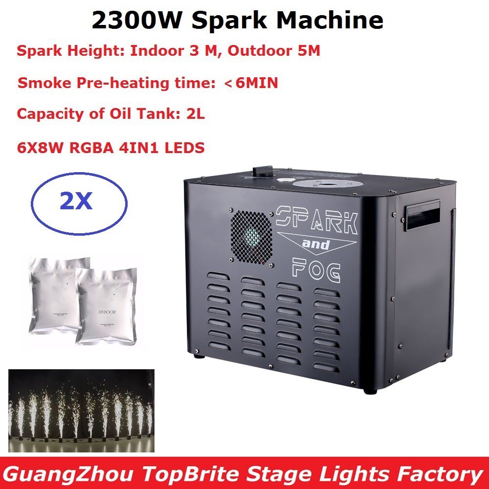 DMX Controller Professional Stage Cold Spark Fireworks Sparkular Machine For Wedding Disco Events Lighting Shows Party Light|Stage Lighting Effect| |  - title=
