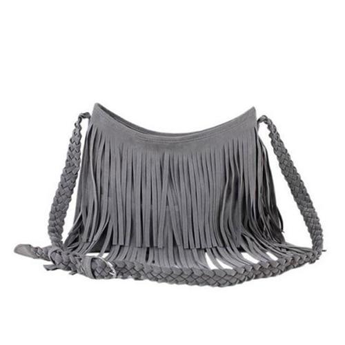 New 2014 Women's Hot sale Suede Fringe Handbags  wmen's fashion Tassel Shoulder Bag messesnger bags Handbeags Z5