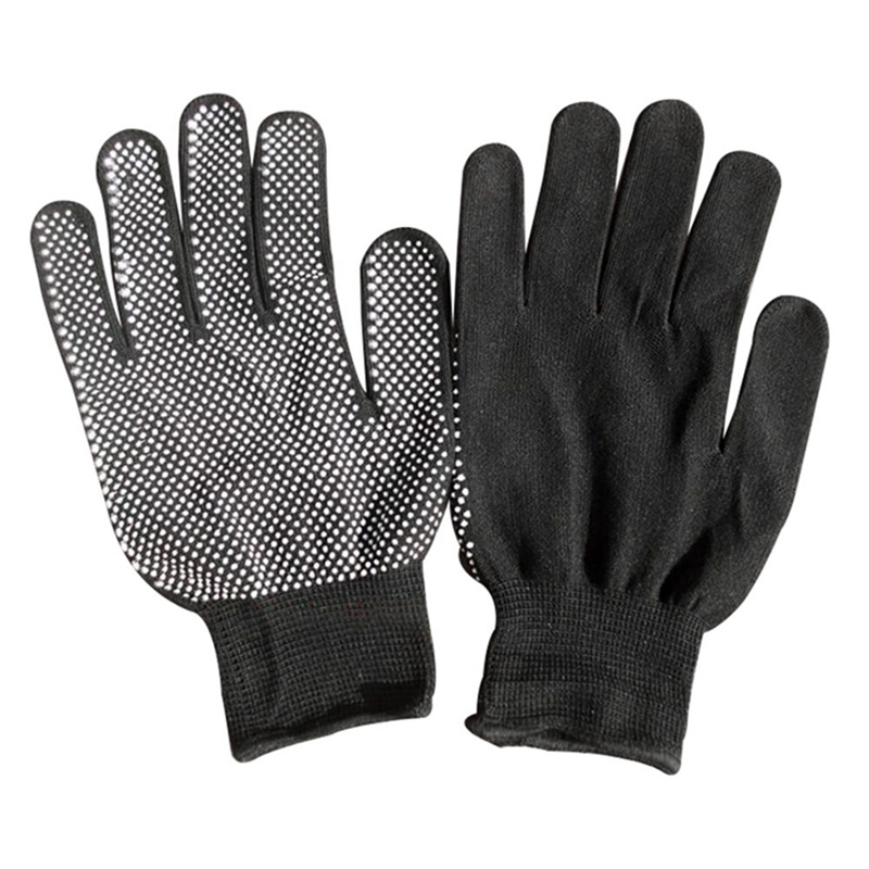 Hair Straightener Curling Tong Hairdressing Heat Resistant Finger Gloves Skid Resistance Burn-proof Non-slip Dispensing GlovesHair Straightener Curling Tong Hairdressing Heat Resistant Finger Gloves Skid Resistance Burn-proof Non-slip Dispensing Gloves