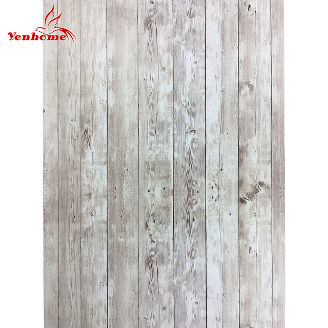 PVC Vinyl Decorative Film Self Adhesive Wallpaper Home Decor Wood Shelf  Liner Contact Paper For Kitchen
