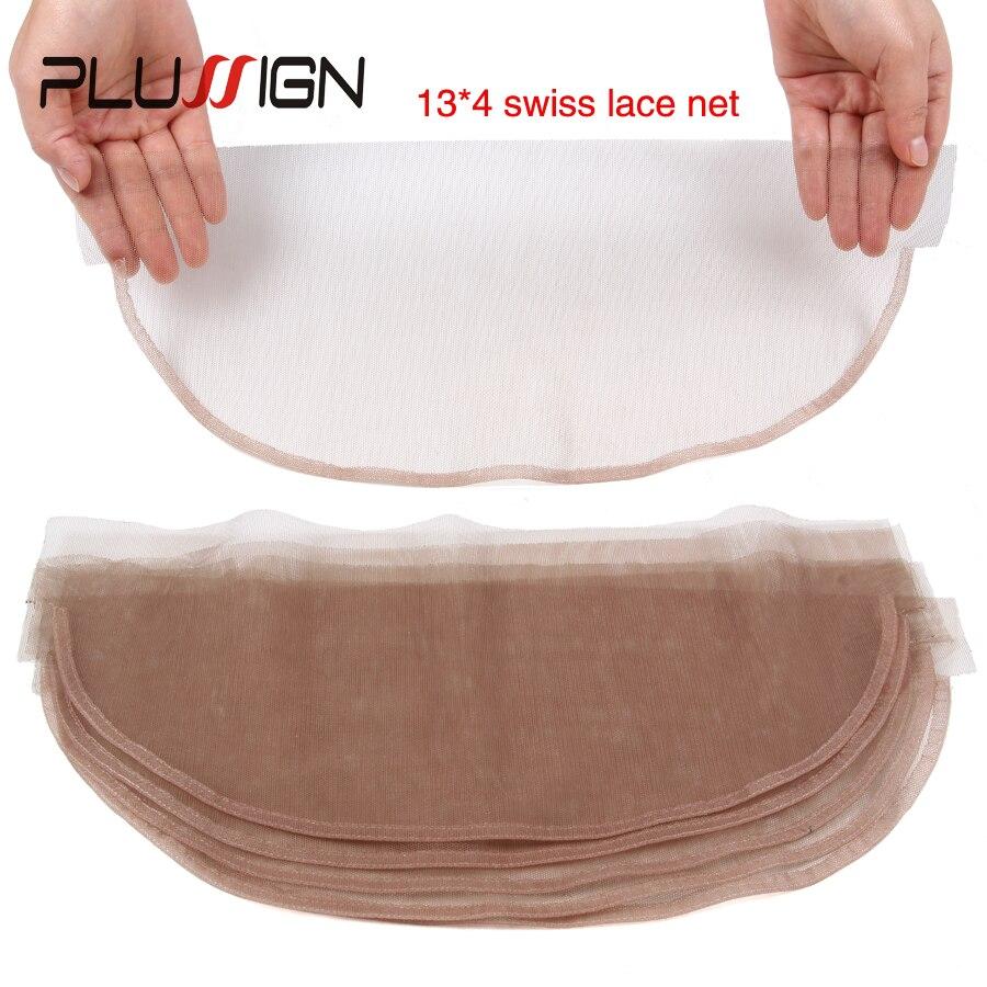 Швейцарская сетка для парика, специальный размер 5*5 13*6, базовая Крышка для парика, материал фронтальной завязывания шнурка, 1 шт./лот, коричне...