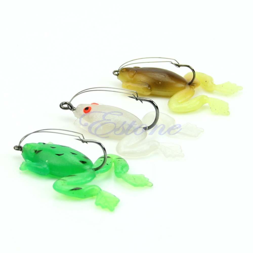free shipping Soft Rubber  Fishing Lures Baits Crank Bait Sinking Tackle Hooks Bass Bait