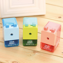 3 pcs/Lot Funny colorful Mechanical pencil sharpener Mini useful sharpeners Stationary Office School supplies FB936