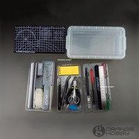 OHS Ustar 90067 Basic Tool Set voor Tamiya Trumpeter Meng Gundam Palsitc Model Kits DIY Suite Van Tools Hobby Accessoire