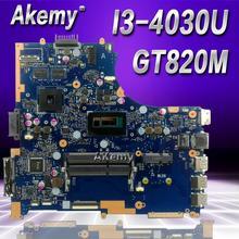 Akemy Горячая продажа для ASUS PU451LD PU451 PU451L Материнская плата ноутбука i3 cpu 1G видео памяти PU451LD материнская плата REV2.0 100% протестирована