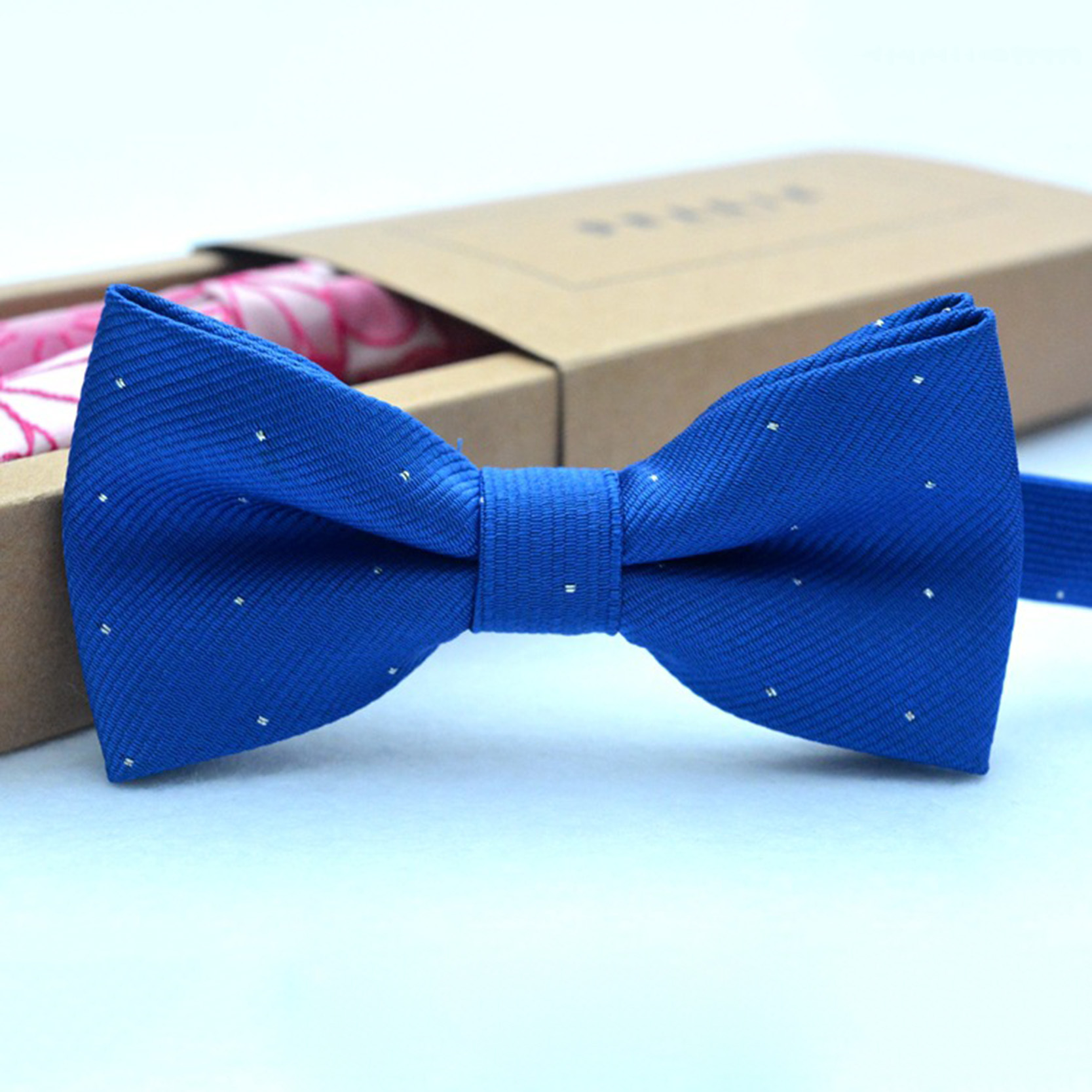 Boy's Tie Brand New Red Blue Fashion Popular Butterfly Gravata Party Bowtie Wedding Bow Tie For Men Dot Plaid Pattern Bowknot Boy's Accessories