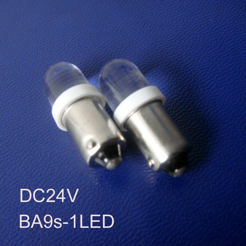 High quality 24V BA9S car Led bulbs,BA9S 24v led instrument lights,ba9s led Signal Light,ba9s Pilot Lamp free shipping 50pcs/lot