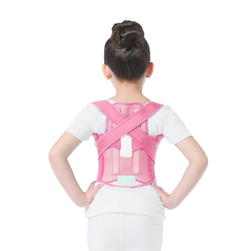 Unisex Adult Humpback Correction Therapy Belt Shoulder Brace Correct Posture Back Support children students kid child back posture correction belt for children beige