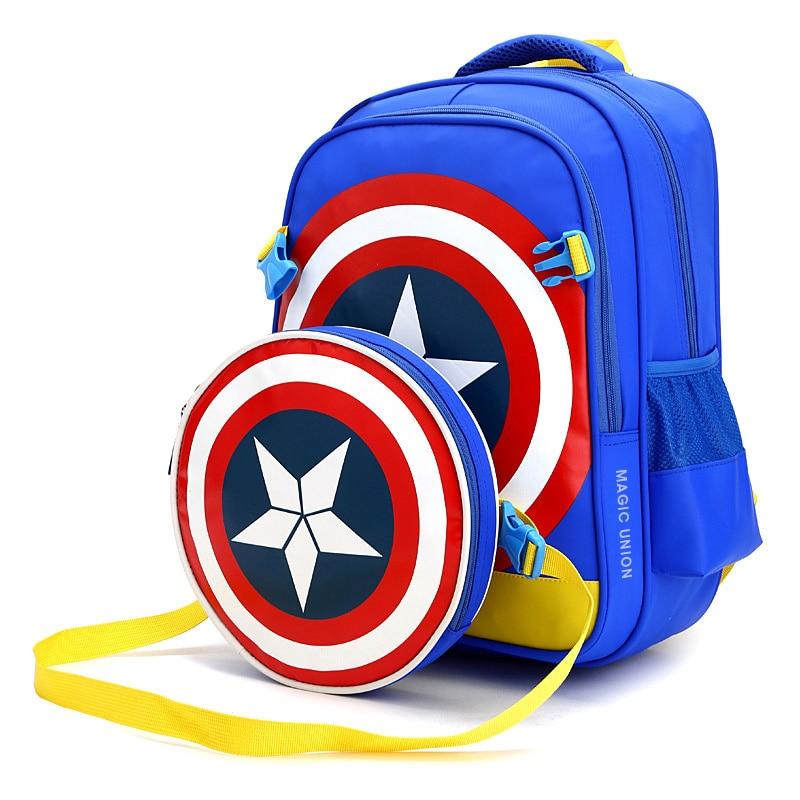 School-Bags Backpacks Primary Girls Waterproof Boys Students Children for Two-Set Kids