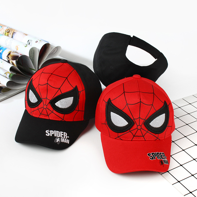 Efficiente 3 Tipo Di Cotone Spiderman Cappello Da Sole Modello Hip-hop Cap Giocattoli Cos Anime X-men Collezione Decorazione Regalo Giocattoli Per I Bambini/adulti Saldi Di Fine Anno
