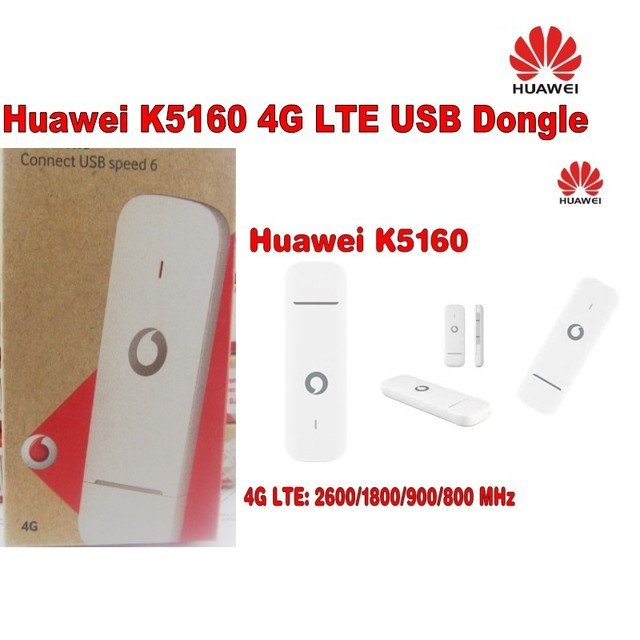 US $246 4 12% OFF|Lot of 10pcs Unlocked Huawei K5160 4G LTE USB Dongle USB  Stick Datacard Mobile Broadband USB Modems-in Network Cards from Computer &
