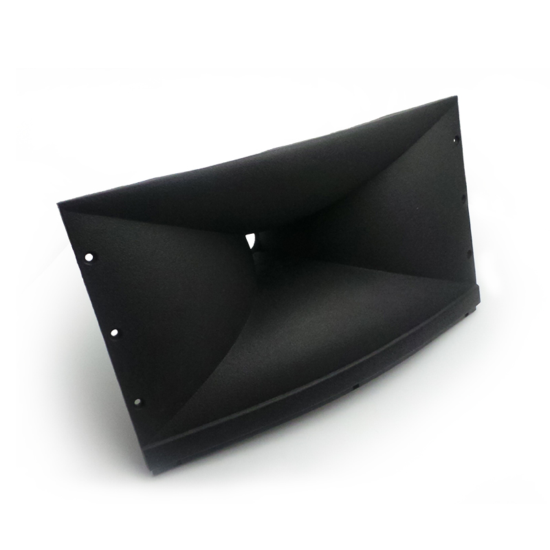 Rectangular horn tweeters drive head, piezoelectric ceramic piece coil, loudspeakers battery stereo subwoofer is special