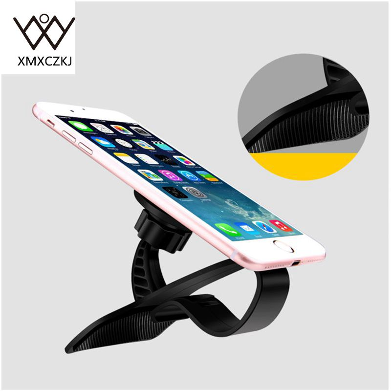 XMXCZKJ Newest Universal Adjustable Car phone Holder Dashboard Magnetic Mount Holder Clamp Clip Stand For Mobile Smart Phone GPS in Phone Holders Stands from Cellphones Telecommunications
