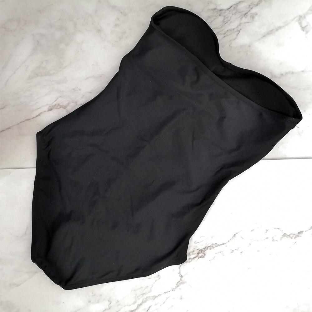 one piece swim suit women swimwear padded monokini Women