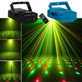AUCD портативный мини-проектор с дистанционным управлением  красный  зеленый  метеорный поток  лазерный свет  домашний  Рождественский  для ве...