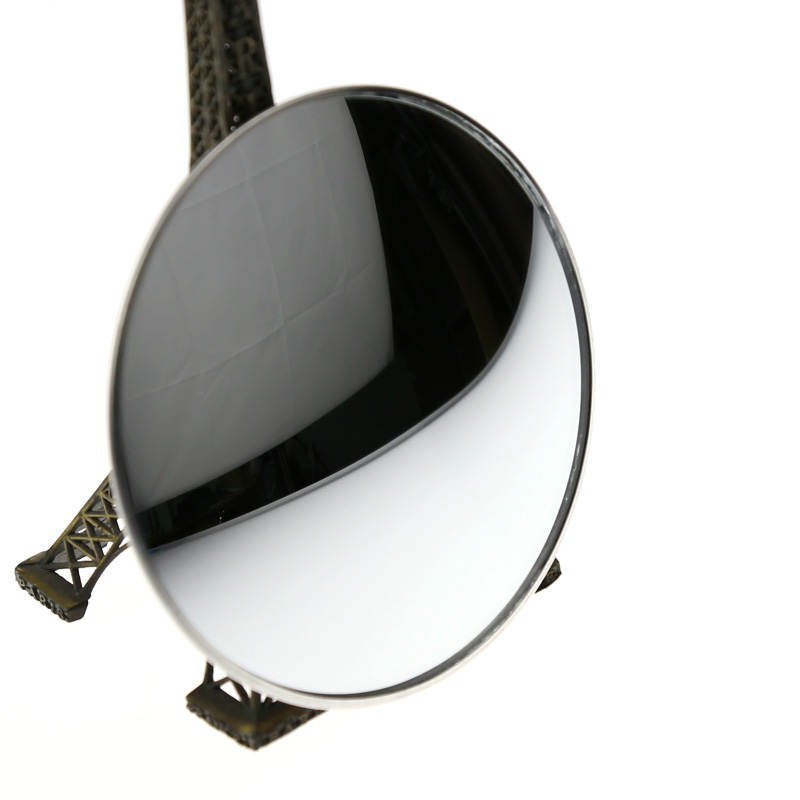 1 piece 9.5cm Universal Fit Car / Motorcycle Wide Angel Round Automotive/Convex Blind Spot Mirror for Parking Rear View Mirror