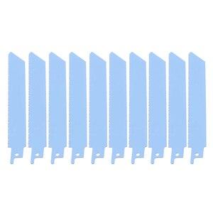 """Image 2 - 10 Stuks 150 Mm 6 """"Vergeldende Sabre Zaagbladen Blauw Hoge Kwaliteit S922BF Zaagbladen Voor Metaal Snijden"""