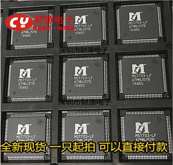 Sicherung Komponenten 10 Teile/los Mst703-lf Lqfp100 Lcd Rabatte Verkauf Elektrische Ausrüstungen & Supplies