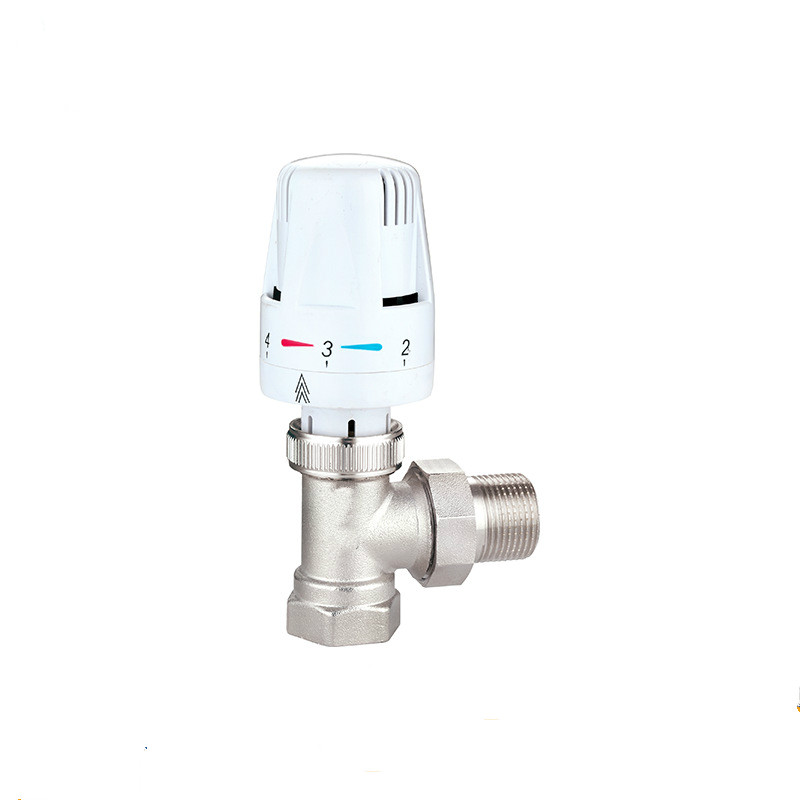 Manifold Radiant Heating Actuator Energy saving Thermostatic Radiator Valve underfloor heating system  Angle valve DN15-DN20