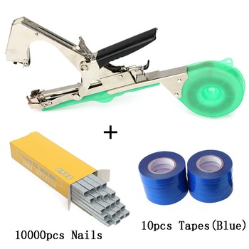 ALLSOME Plant Branch Tapetool Tapener Tapes Garden Tools Plant Tying Packing Vegetable Stem Strapping with 10 Roll Tapes HT2606 - Spain, set 3